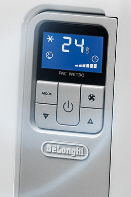 The functions of the air conditioner De'Longhi
